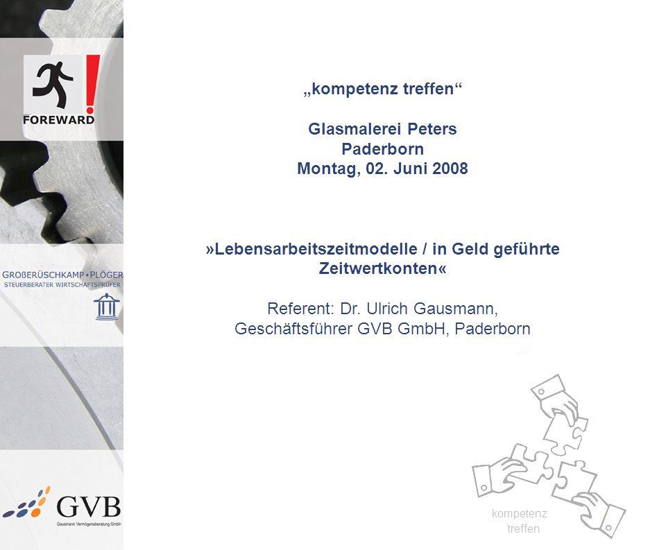 """kompetenz treffen Glasmalerei Peters Paderborn Montag, 02. Juni 2008"