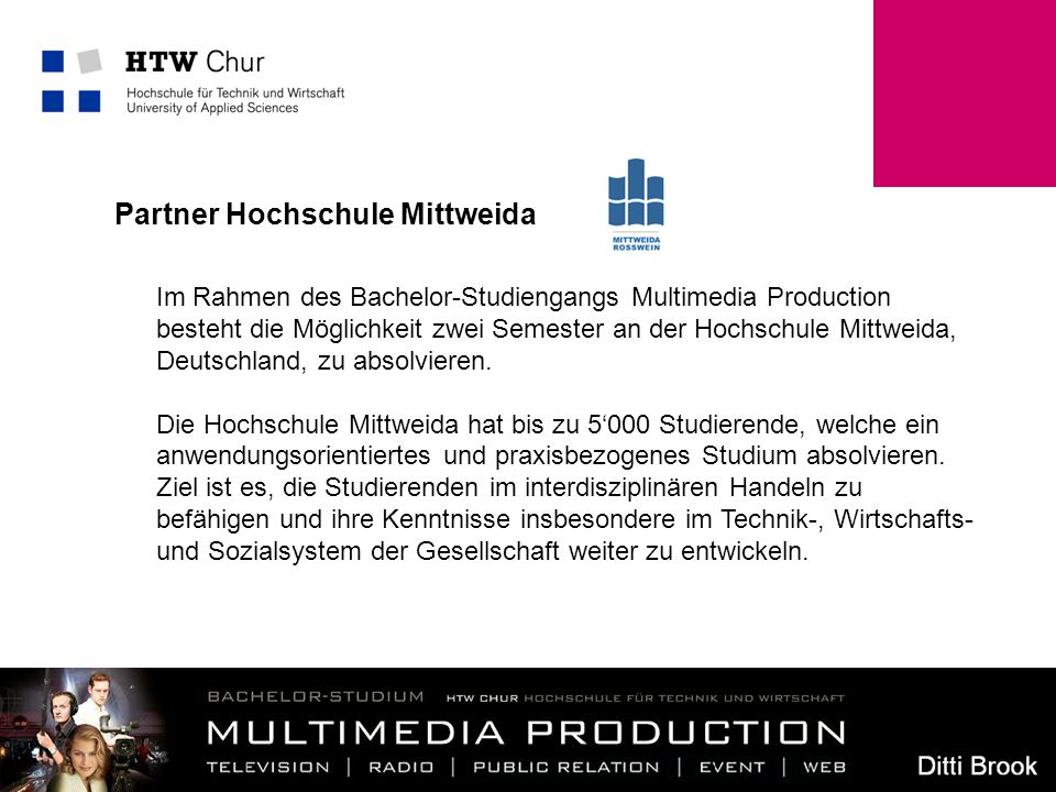 Partner Hochschule Mittweida