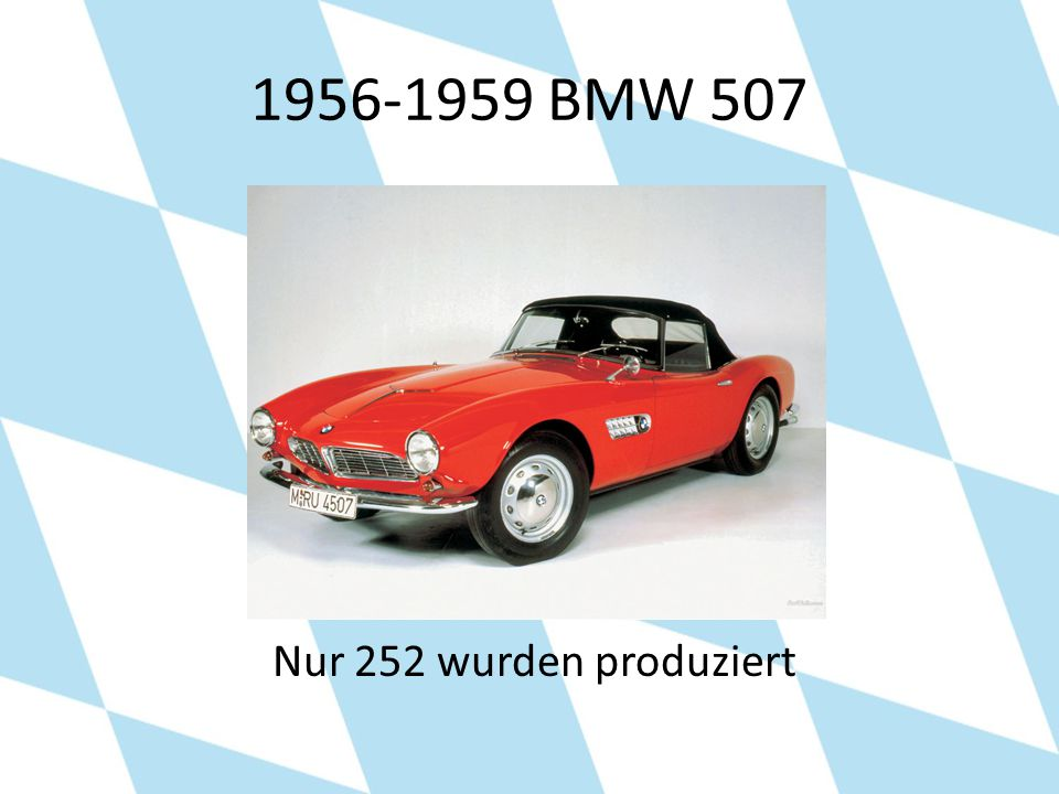 1956-1959 BMW 507 Nur 252 wurden produziert
