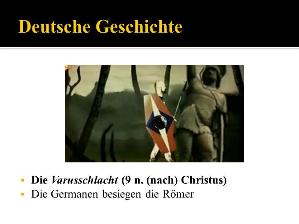 Deutsche Geschichte Die Varusschlacht (9 n. (nach) Christus)