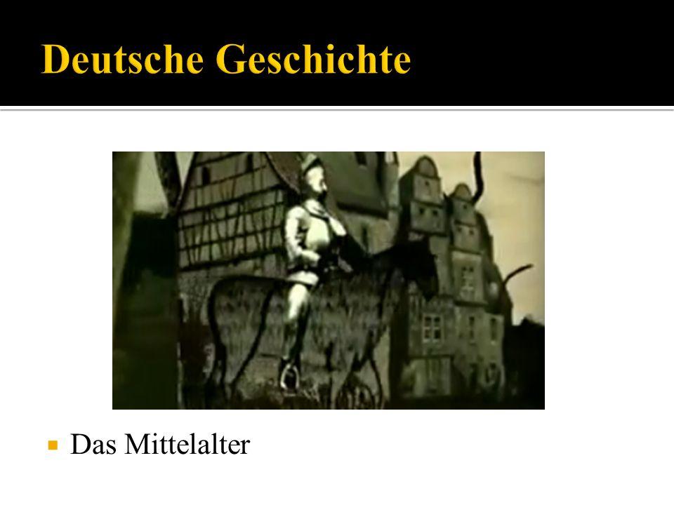 Deutsche Geschichte Das Mittelalter