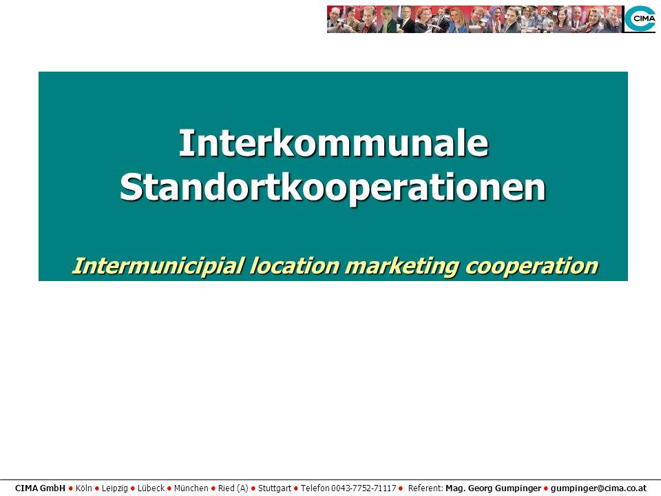 Interkommunale Standortkooperationen