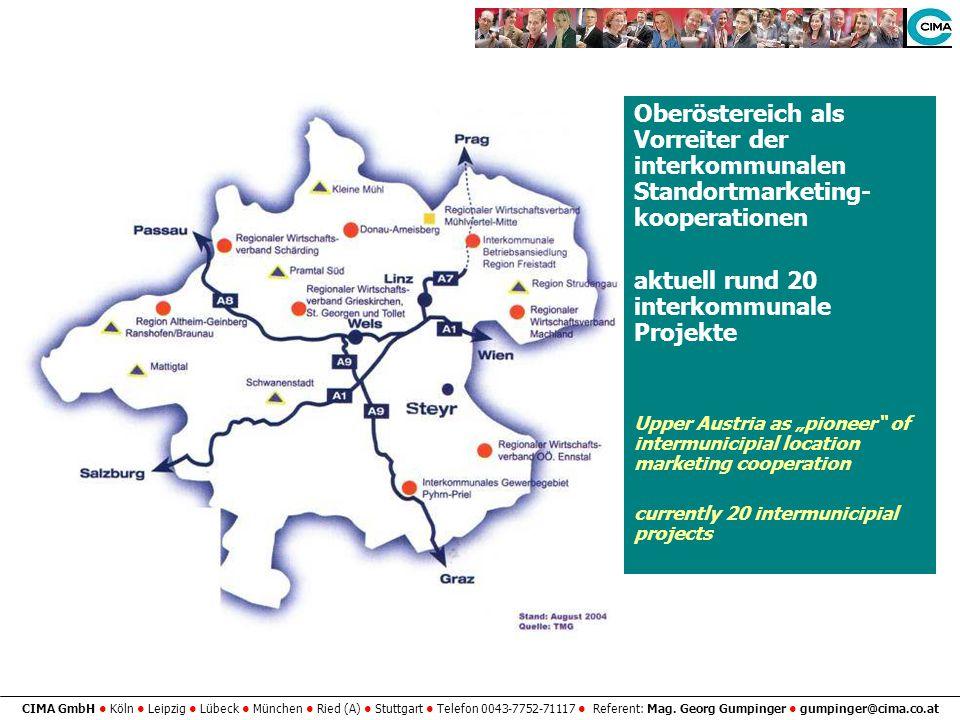 aktuell rund 20 interkommunale Projekte
