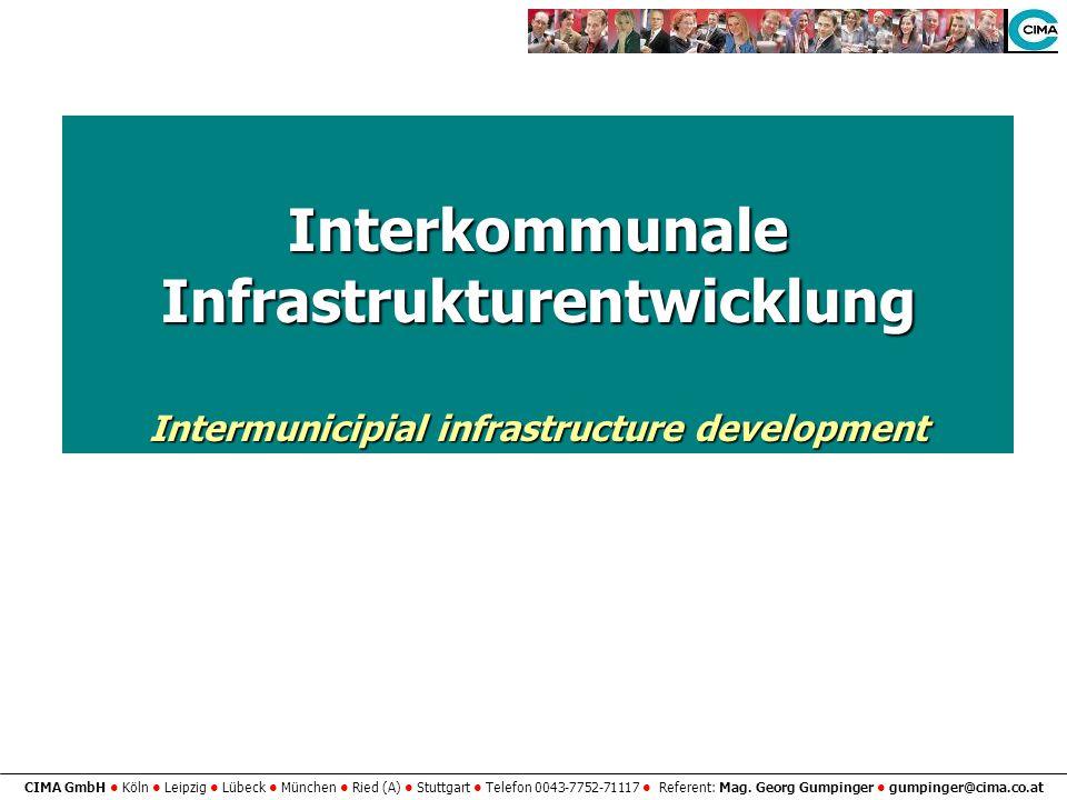 Interkommunale Infrastrukturentwicklung
