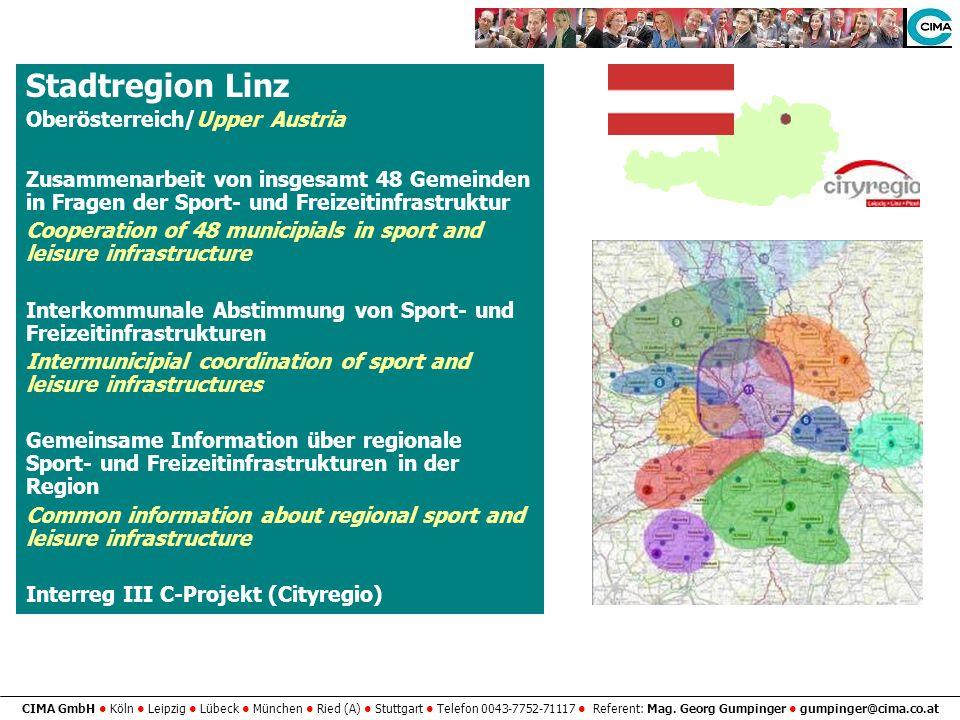 Stadtregion Linz Oberösterreich/Upper Austria
