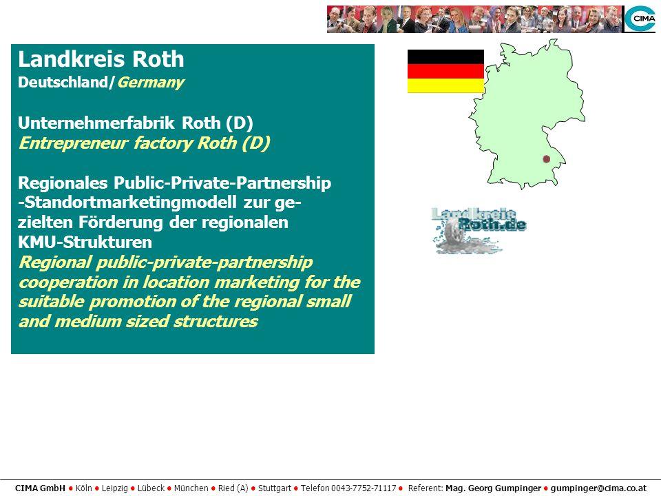 Landkreis Roth Unternehmerfabrik Roth (D)