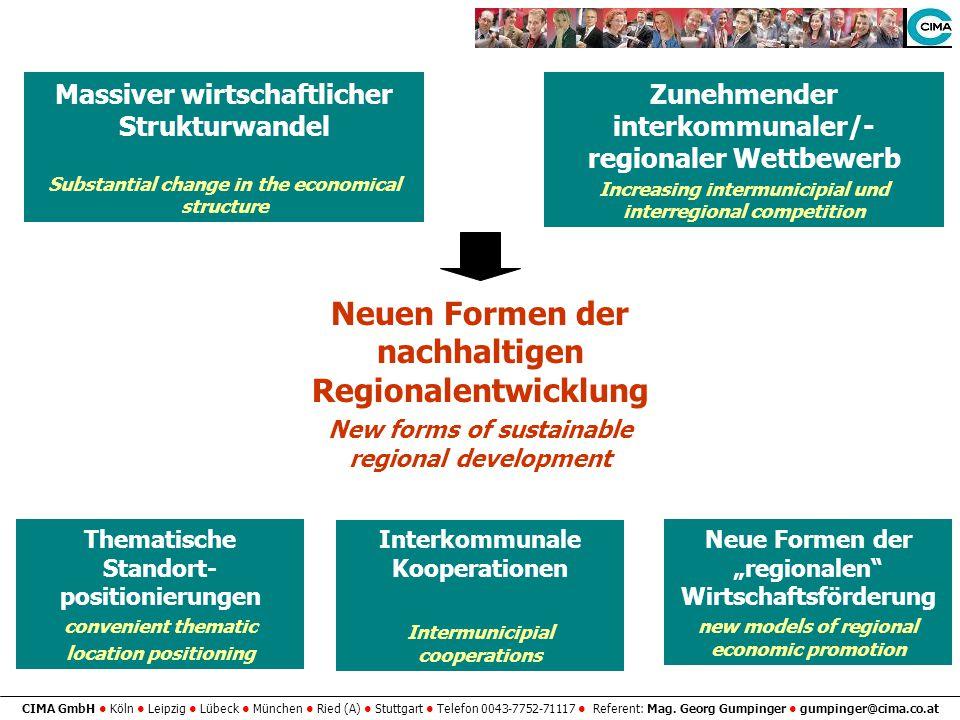 Neuen Formen der nachhaltigen Regionalentwicklung