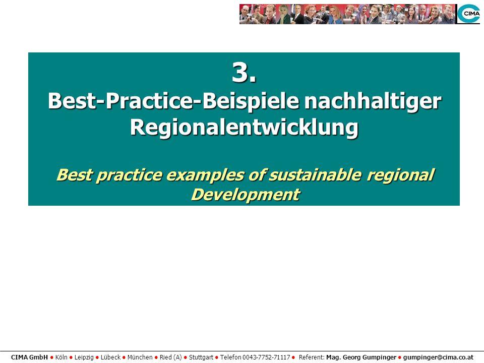 3. Best-Practice-Beispiele nachhaltiger Regionalentwicklung