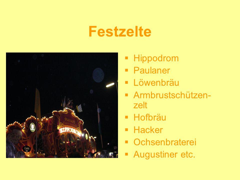 Festzelte Hippodrom Paulaner Löwenbräu Armbrustschützen-zelt Hofbräu