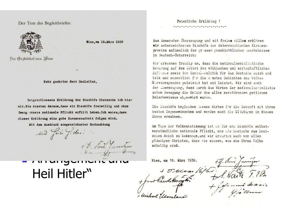 Die Kirche und der Anschluss 1938