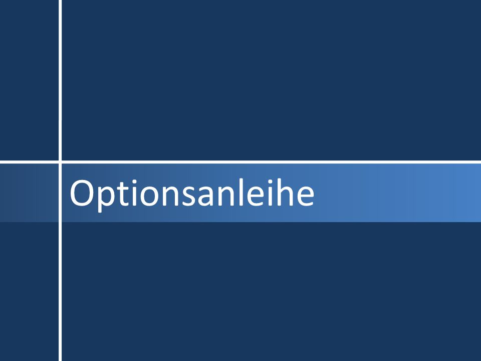 Optionsanleihe