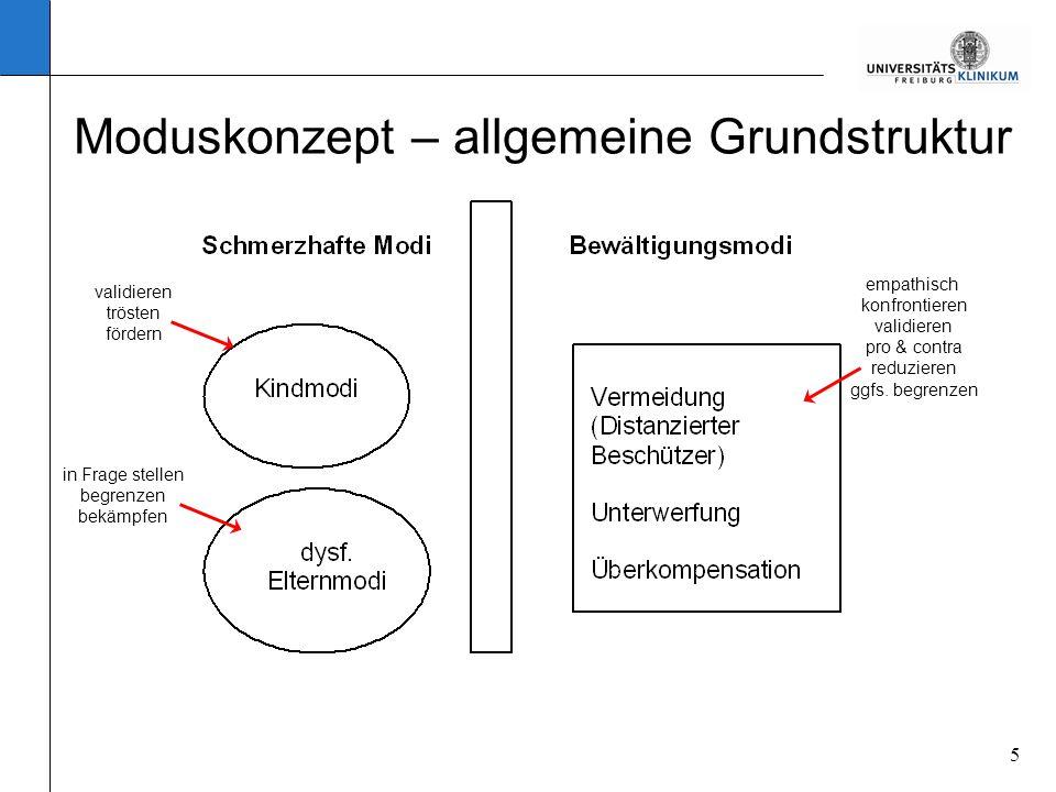 Moduskonzept – allgemeine Grundstruktur