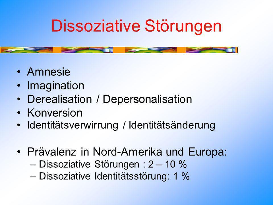 Dissoziative Störungen