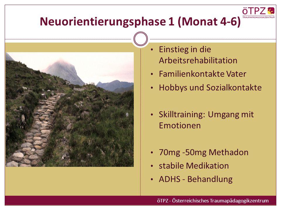 Neuorientierungsphase 1 (Monat 4-6)