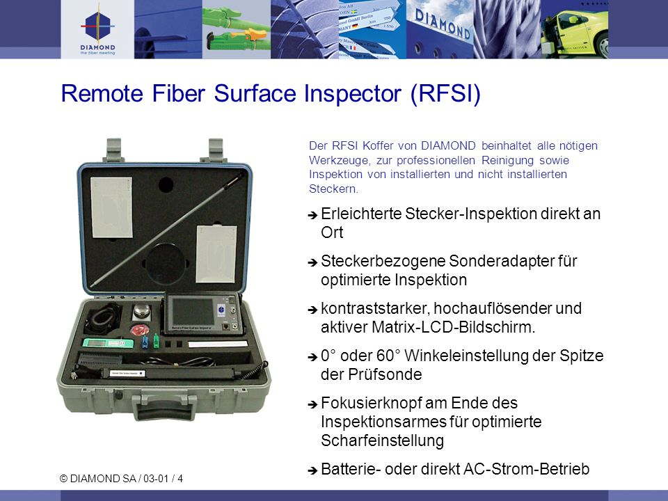 Remote Fiber Surface Inspector (RFSI)