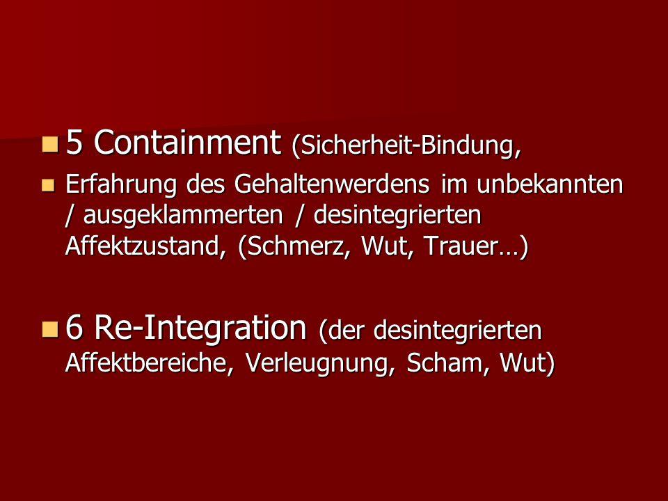 5 Containment (Sicherheit-Bindung,