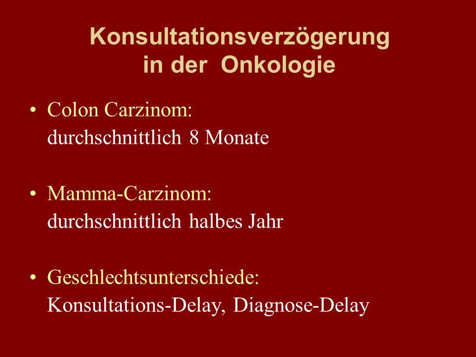 Konsultationsverzögerung in der Onkologie