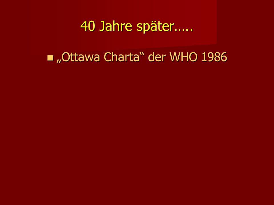 """""""Ottawa Charta der WHO 1986"""