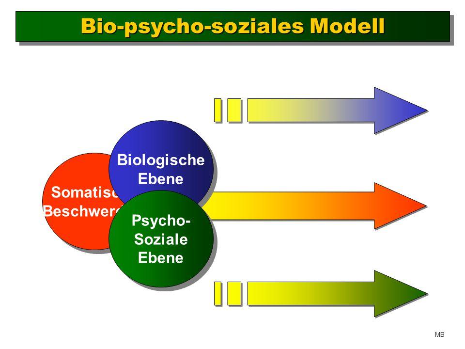Bio-psycho-soziales Modell