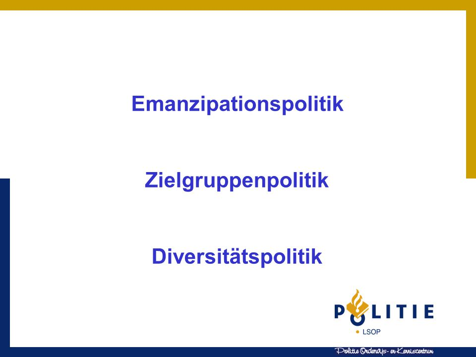 Emanzipationspolitik