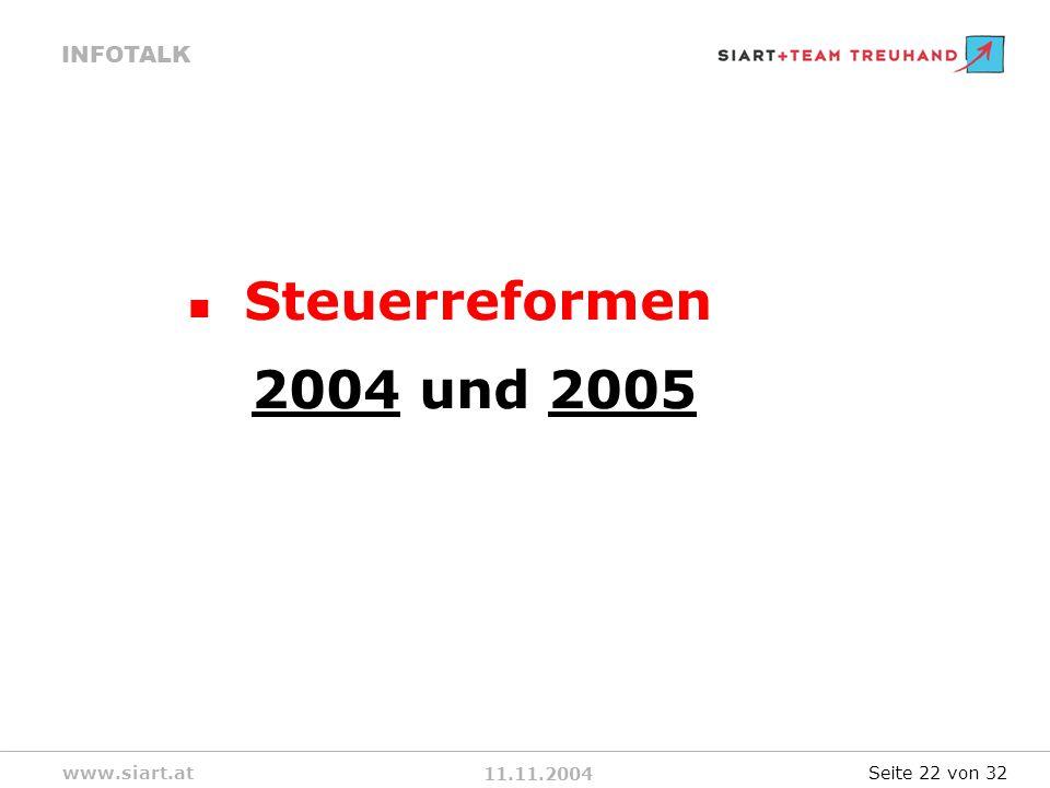 Steuerreformen 2004 und 2005 Seite 22 von 32