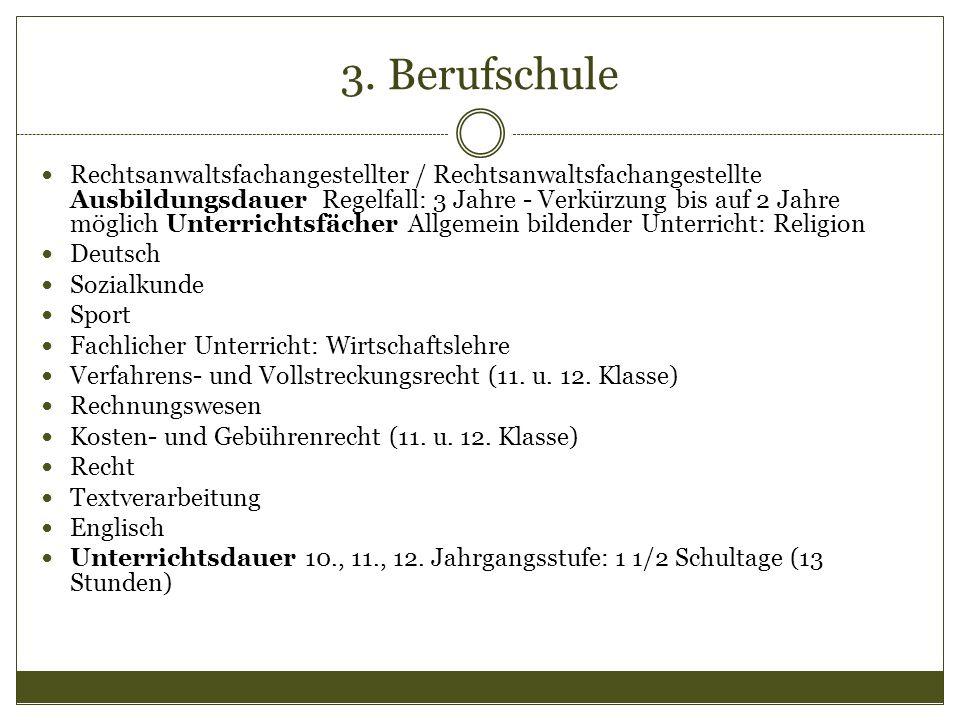 3. Berufschule