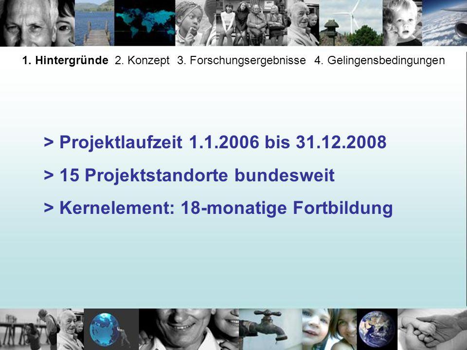 > Projektlaufzeit 1.1.2006 bis 31.12.2008