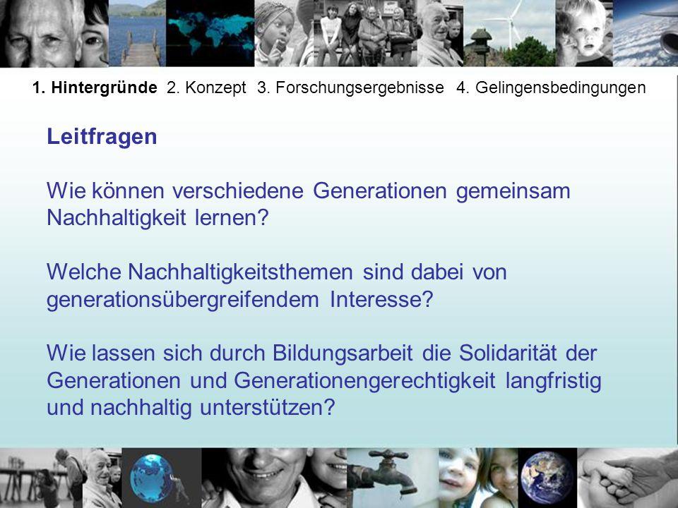Wie können verschiedene Generationen gemeinsam Nachhaltigkeit lernen