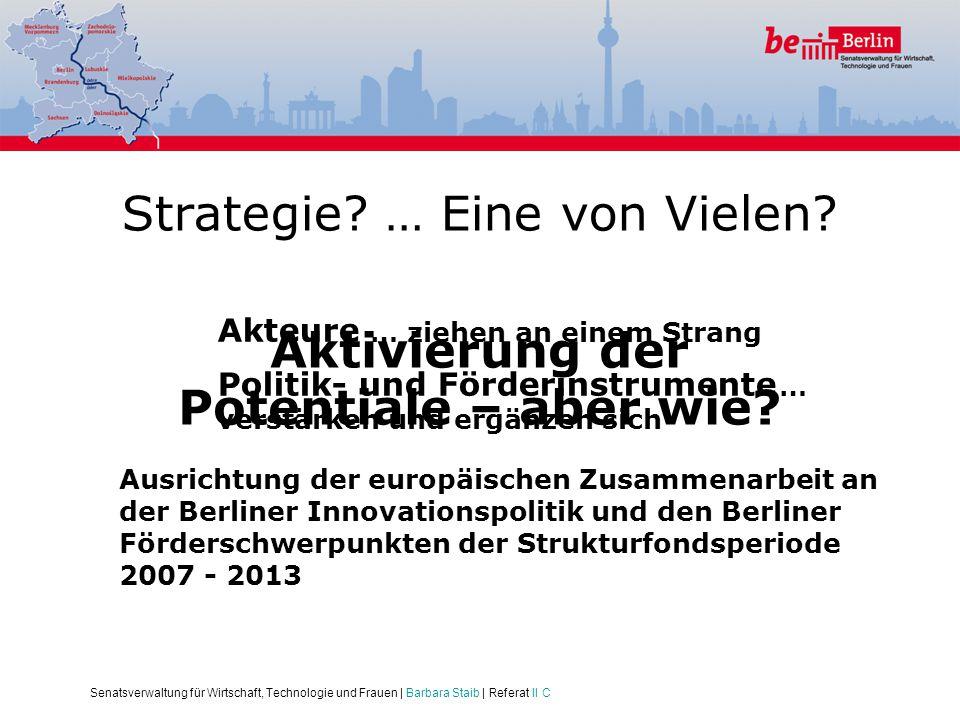 Strategie … Eine von Vielen