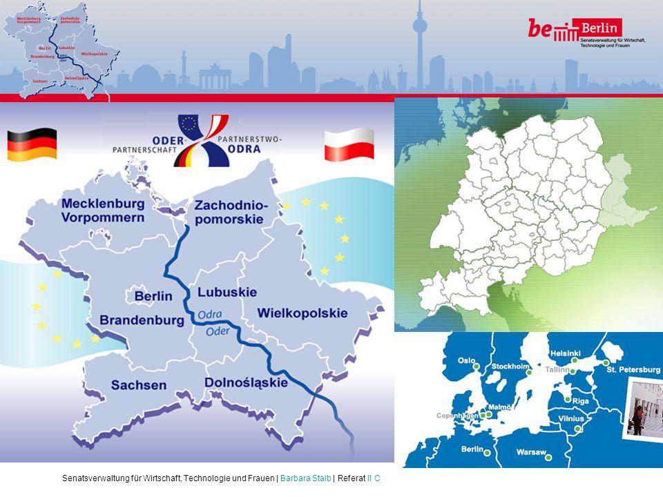 Unsere Instrumente:. Ziel 3 – INTERREG IV B und C: