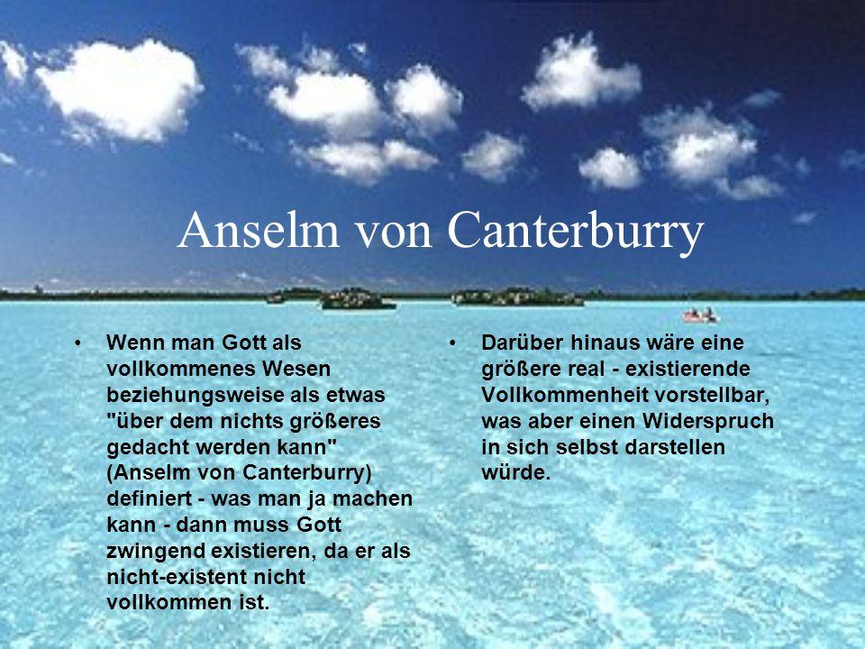 Anselm von Canterburry