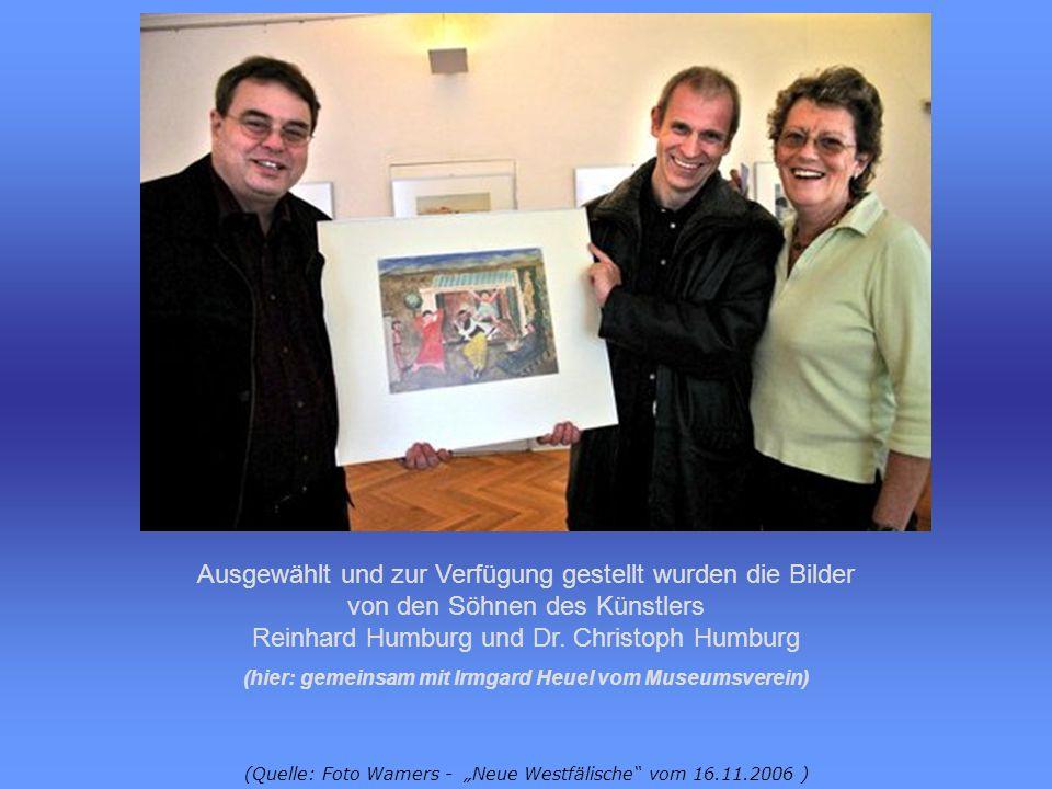 (hier: gemeinsam mit Irmgard Heuel vom Museumsverein)
