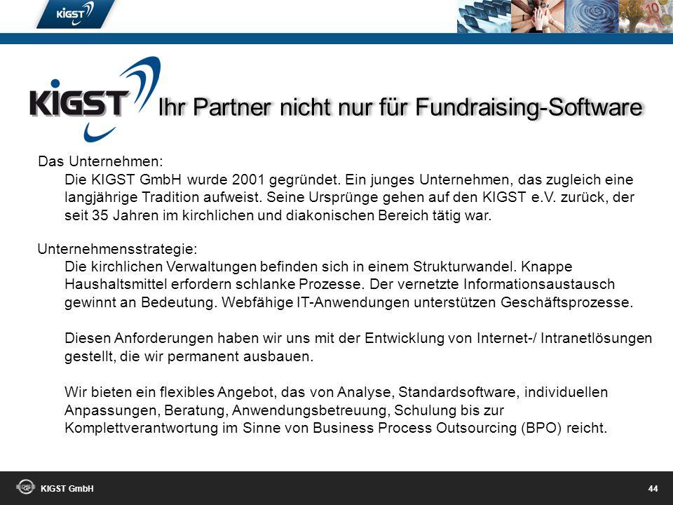 Ihr Partner nicht nur für Fundraising-Software