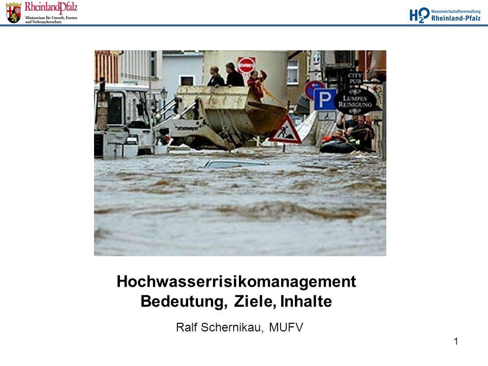 Hochwasserrisikomanagement Bedeutung, Ziele, Inhalte