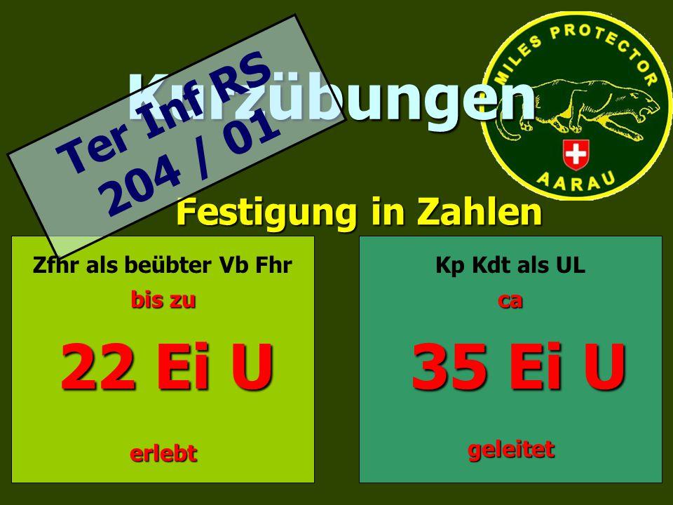 Kurzübungen 35 Ei U Ter Inf RS 204 / 01 Festigung in Zahlen