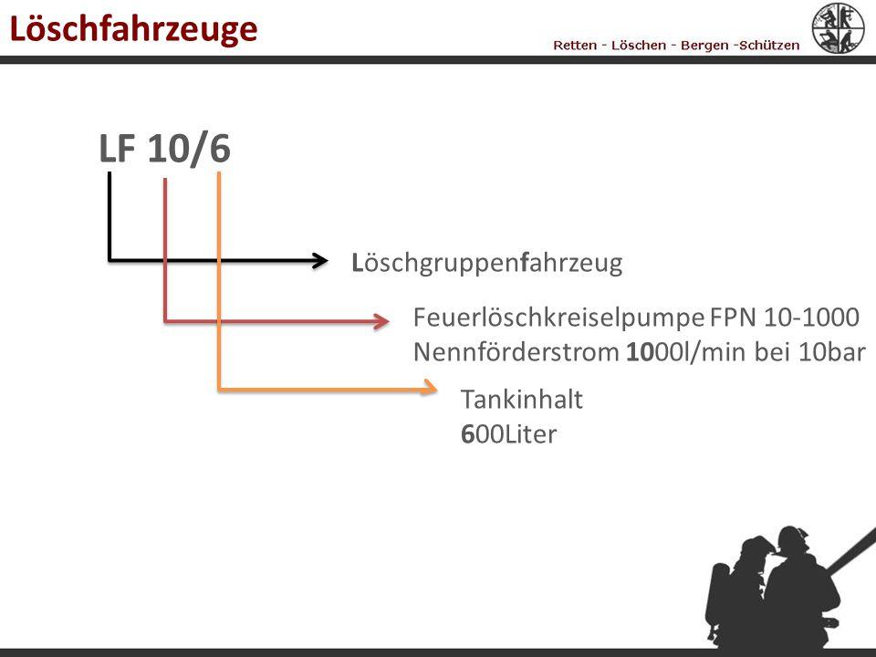 LF 10/6 Löschfahrzeuge Löschgruppenfahrzeug