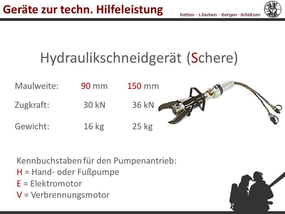 Hydraulikschneidgerät (Schere)