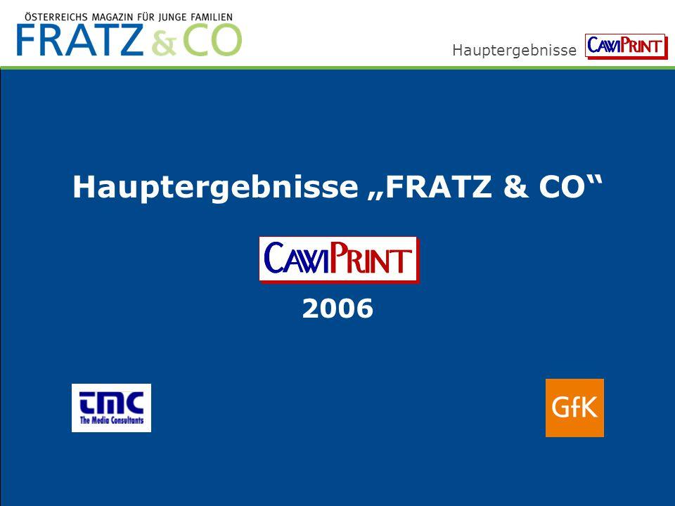 """Hauptergebnisse """"FRATZ & CO"""