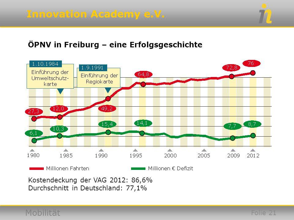 ÖPNV in Freiburg – eine Erfolgsgeschichte