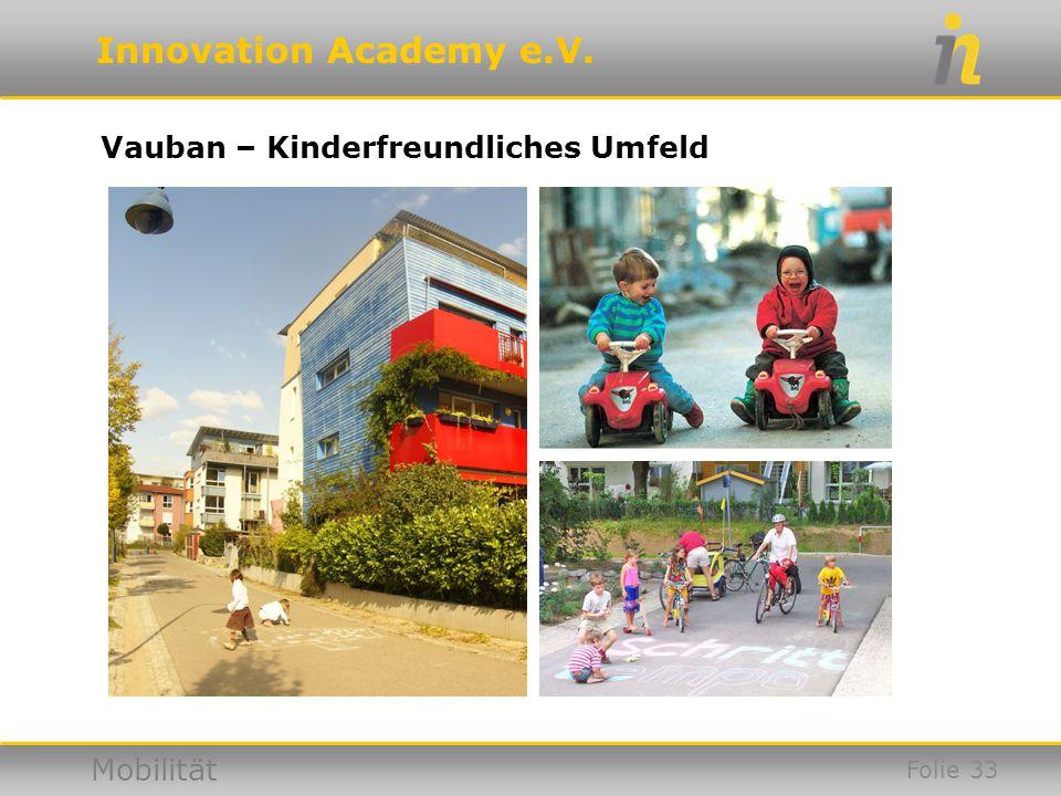 Vauban – Kinderfreundliches Umfeld