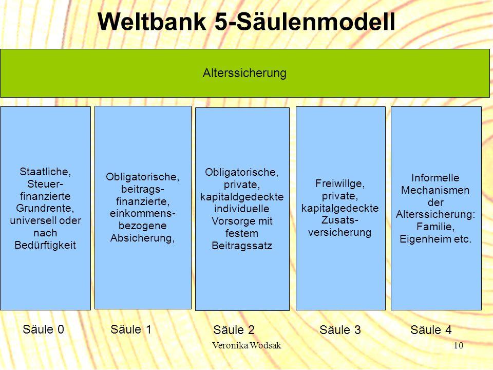 Weltbank 5-Säulenmodell