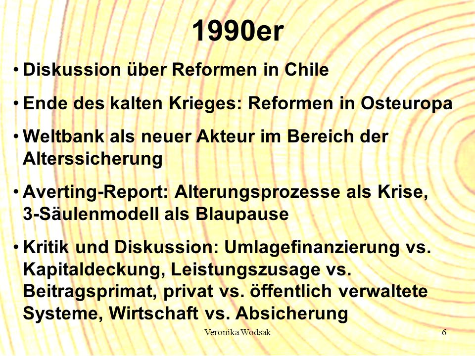 1990er Diskussion über Reformen in Chile