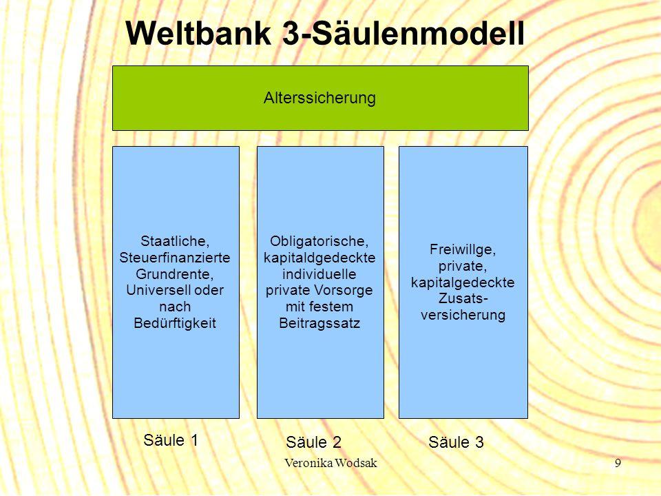 Weltbank 3-Säulenmodell