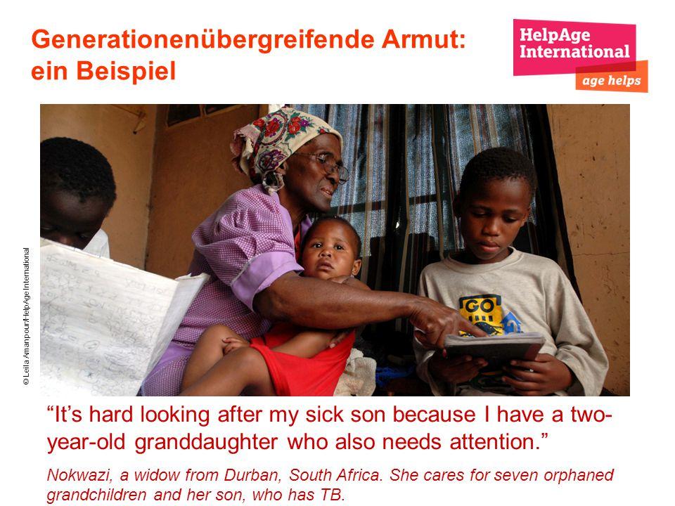 Generationenübergreifende Armut: ein Beispiel