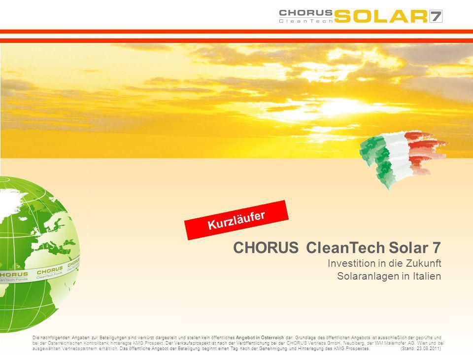 CHORUS CleanTech Solar 7