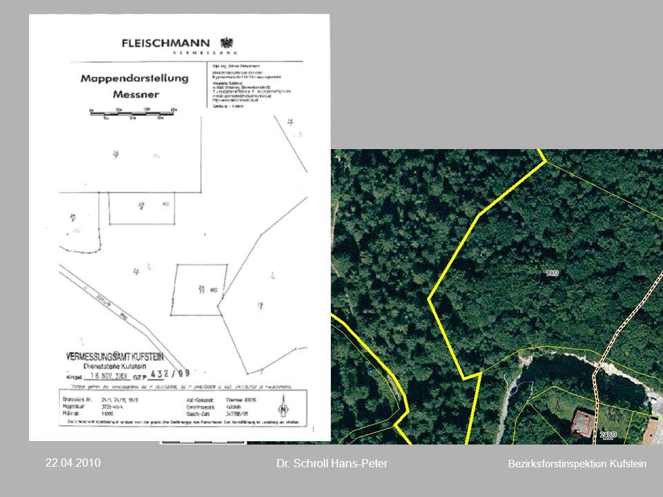 Eindeutig Wald, im Kataster und in der Natur, Waldteilung ist nicht möglich. Nichtwaldfeststellung ist nicht möglich. Liegt keine Rodungsbewilligung vor muss diese Teilung abgelehnt werden. In diesem Fall war bereits ein Rodungsbescheidvorhanden – keine Wald – Bescheinigung wurde ausgestellt.