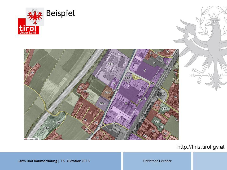 Beispiel http://tiris.tirol.gv.at