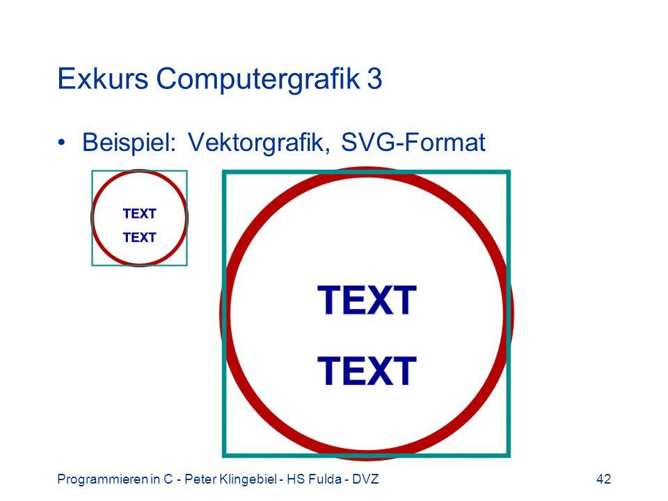 Exkurs Computergrafik 3