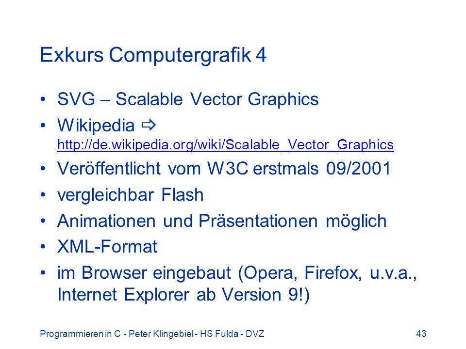 Exkurs Computergrafik 4
