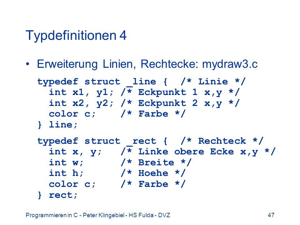 Typdefinitionen 4